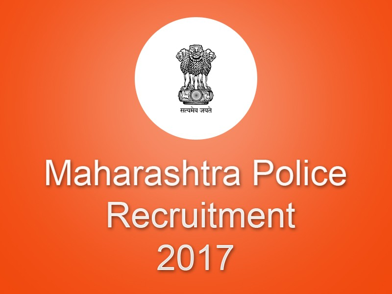 Maharashtra Police constables Recruitment 2017 Apply Online