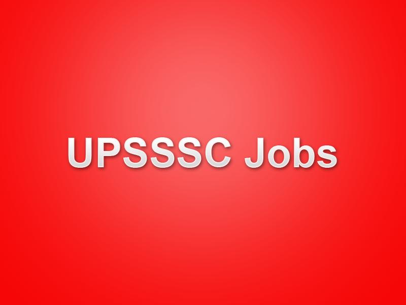 UPSSSC Kanishtha Sahayak Recruitment 2019 Apply Online