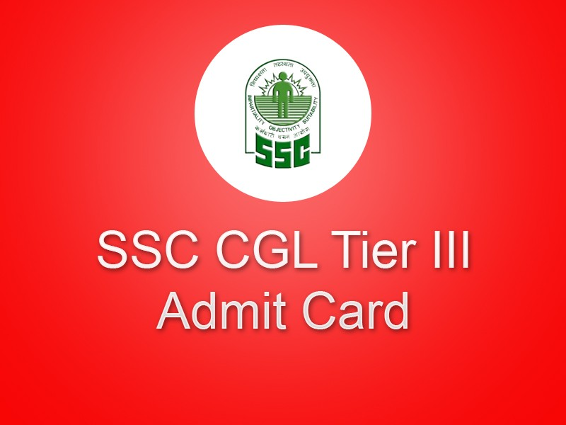 SSC CGL Tier III Admit Card Available
