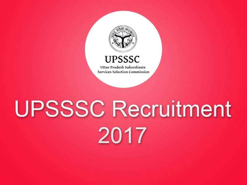 UPSSSC Recruitment 2018: Gram Panchayat Adhikari Post Apply Online