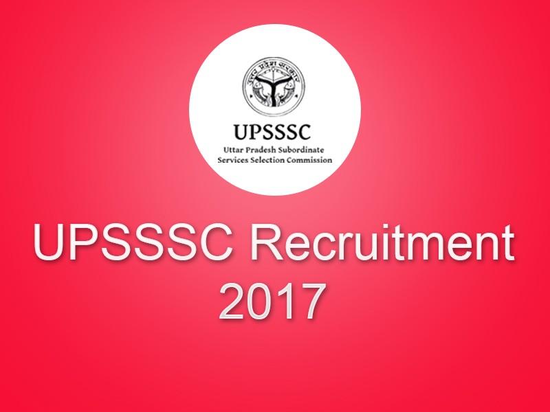 UPSSSC Recruitment 2018: Gram Panchayat Adhikari Post Apply Online